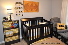 Nephew's Batman Nursery