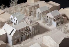 Tardio Djuric Projet 15 maisons bois Gennevilliers
