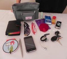 How many items can your organiser sort for you? Handbag Organization, Organisers, You Bag, Retro, Fabric, Cotton, Handmade, Bags, Women