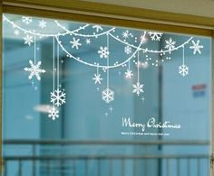 Snowflakes Window Sills Christmas Decoration Interior Curtain Festival Party Holiday Decoration Wall Sticker Glass Door Sticker Snowflake Online with 14.49/Set on Crafts668's Store | DHgate.com