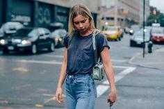 Chanel, Jeans, Women, Earrings, Bags, T Shirts, New York, Alexandra Spencer, SS16 Women's