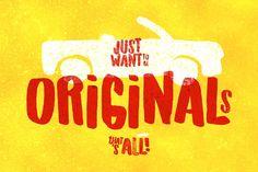 Originals Typeface by LeoSupply.co on @creativemarket
