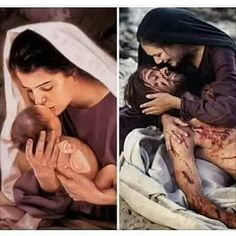 Mary and Jesus Easter Jesus Mother, Blessed Mother, Baby Jesus, Work This Out, Birth Of Jesus Christ, Mama Mary, Mary And Jesus, Holy Week, Advent