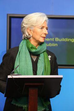 Christine Lagarde Photos: IMF Managing Director Christine Lagarde Visits Dublin