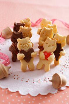 だっこ型抜きクッキー by 貝印(KAI) [クックパッド] 簡単おいしいみんなのレシピが256万品