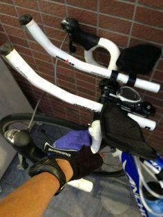 佐渡国際トライアスロンにむけてバイク練習!