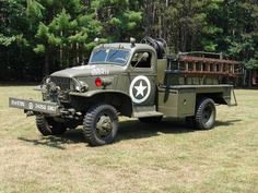 1943 Model 325 Chevy/Darley/Oren two and a half ton WWII fire truck....
