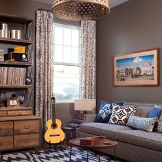 Leather Sofa Saddle Brown Design Ideas, Pictures, Remodel, and Decor - page 31