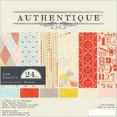 Authentique Paper Pack Pad - Wishes 6 x 6