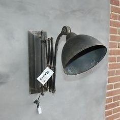 ≥ Stoere zwarte wandlamp, schaarlamp model-via-hannah - Lampen | Wandlampen - Marktplaats.nl Wall Lights, Sconces, Lamp, Lights, Home Deco, Light, Light My Fire, Keep The Lights On, Vintage Lamps