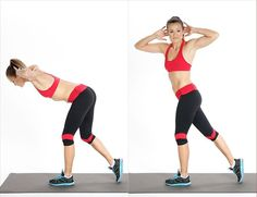 Work Your Butt, Thighs, And Abs With This No-Equipment-Needed Exercise You may have tried a regular deadlift, but this rotating deadlift will fire up your core (and you don't need a gym membership to try it out).