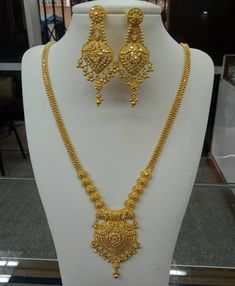 Latest Bridal Gold jewelry ideas, Antique Gold Choker and Long Chain in Bridal Gold Jewelry Trendy Choker and Gold Beads Mala Pakistani Jewellery Design, Latest Jewellery, . Antique Gold Necklace and Haram Set photo Gold Jewellery Design, Bridal fashion Gold Bangles Design, Gold Earrings Designs, Gold Jewellery Design, Gold Designs, Necklace Designs, Jewellery Box, Designer Jewelry, Designer Wear, Ring Designs