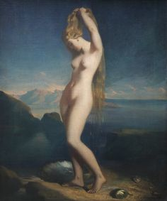 Vénus anadyomène by Théodore Chassériau (1838), Louvre Museum, Paris I