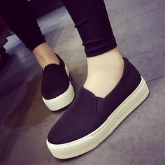 zapatos de plataforma con vestido largo