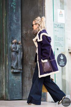 Lucinda Chambers Street Style Street Fashion Streetsnaps by STYLEDUMONDE Street Style Fashion Photography