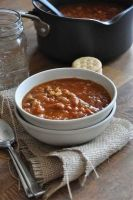 Easy Pumpkin Chili #Vegetarian #Vegan