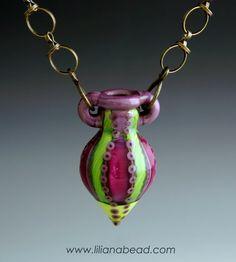 vessel necklace by liliana glenn