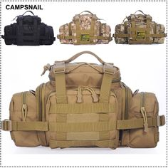 Cheap bag wire, Buy Quality bag packaging directly from China bag bag Suppliers: Tactical Molle Waist Bags Men's Outdoor Sport Casual Waist Pack Purse Mobile Portable Waist Bag military Pouch Multi Co