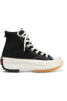new products f5663 3e11f Converse - + JW Anderson Run Star Hike canvas high-top sneakers