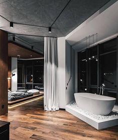 Interior Design Examples, Loft Interior Design, Best Interior, Home Interior, Interior Design Inspiration, Interior Decorating, Luxury Interior, Daily Inspiration, Modern Interior