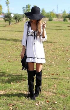 Time To Be Hippie by Lola Mansil Fashion Diary