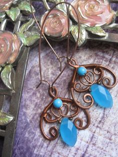 art nouveau wire wrapped jewelry - Google Search