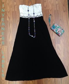 Charlotte Russe maxi dress.