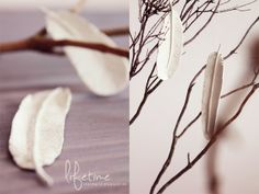Lifetime: DIY, feather decoration, feather, Anhänger, Dekoration, Feder, Modelliermasse