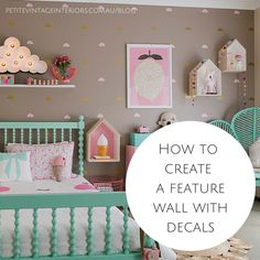 How to create a feature wall with decals