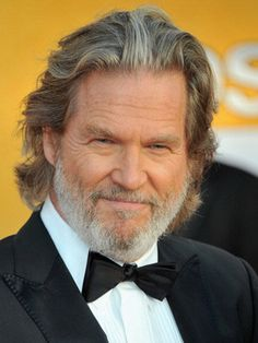 Jeff Bridges. Am I the only one who thinks he's starting to look like Kris Kristofferson?