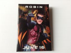 1995 Robin Batman Forever Movie Promtional Button Chris O'Donnell by afunspottoshop on Etsy