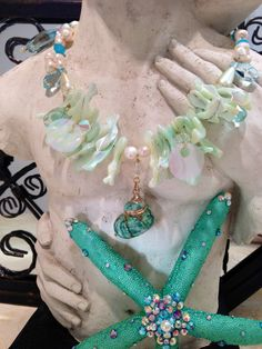 Ariel Necklace / The Little Mermaid Necklace by HouzeofPreza, $39.99