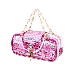 Need some bling in your life? Here's our new Pinky Candy Bling Purse Pencil Case!