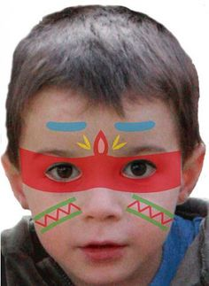 Verkleiden: Kinder schminken: Einfache Vorlagen für den Karneval - BRIGITTE MOM