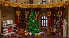 Christmas at Hogwarts | I always loved the Christmas scenes … | Flickr Hogwarts Christmas, Lego Christmas, Christmas Scenes, Christmas Town, Holiday, Lego Harry Potter, Theme Harry Potter, Harry Potter Advent Calendar, Lego Advent Calendar