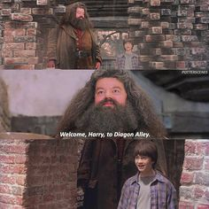 "6,393 Likes, 52 Comments - Harry Potter News & Edits. (@potterscenes) on Instagram: ""[#PhilosophersStone – 2001] — Q: What would your reaction be to seeing Diagon Alley for the first…"""