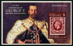British Indian Ocean Territory Accession to the Throne of King George Stamps