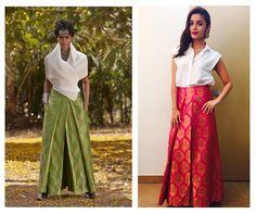 10 Legit Cool Girl Ways to Do a Benarasi! *Apart from the Usual Sarees & Lehengas! | WedMeGood