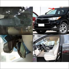 For Toyota Highlander Car wifi DVR Driving Video Recorder Hidden typle installation Novatek car black box Dash Cam night vision