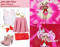Like Sailor Moon Outfits on Facebook! Kenneth Cole gold tone half moon drop earrings Debut red satin bow clutch bag Ted Baker acrylic pearl bow bracelet in Blood Orange Red Smoothie buckled platform ankle boots in Pink Forever 21 tie hem shirt in White Topshop invert pleat flippy skirt in Pink