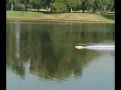 Worlds Fastest RC Boat - Over 140mph! Lehner Motoren Technik