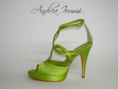 "sandali sposa colorati. raso ""verde acido"" tacco 10 cm www.andreaiommi.it  #Shoes  #Fashion  #HighHeels  #Heel #Style  #highheelshoes  #Stiletto #Sandals  #heelshoes  #High  #Footwear  #heelsfashion  #fashionshoes  #Shoe  #Platform  #designershoes #Wedding #WeddingPhotography  #Bridal  #Bride  #BridalShoes  #ShoesMonday  #WeddingDress  #Weddings  #WeddingPlanning  #ShoesDayTuesday #Love"