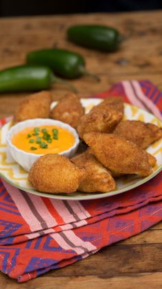 Tastiness happens when stuffed shell pasta meets your favorite spicy, deep-fried appetizer.
