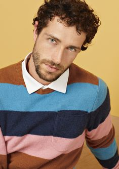 efficiency, and productivity are important. So are and Specializing in in the segment Cashmere stands for and articles as well as for a strong sense of with respect to correct conditions. Baby Blue, Pink Blue, Striped Knit, Gq, Productivity, Knits, Respect, Cashmere, Men Sweater