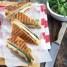 Turkey Paninis with Sun-Dried Tomatoes - Clean Eating - Clean Eating