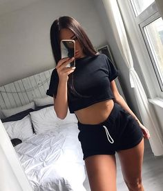imagines e preferences da MARVEL. divirta-se Vem ser iludida vc t… # Fanfic # amreading # books # wattpad Chill Outfits, Mode Outfits, Casual Outfits, Summer Outfits, Fashion Outfits, Sexy Pyjamas, Mode Instagram, Foto Casual, Jolie Lingerie