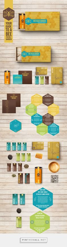 Bee Blue Garden on Behance | Fivestar Branding – Design and Branding Agency & Inspiration Gallery