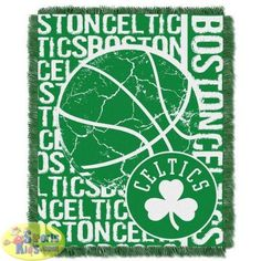 "Northwest NBA Boston Celtics 48""x60"" Triple Woven Jacquard Throw (Double Play Series)"