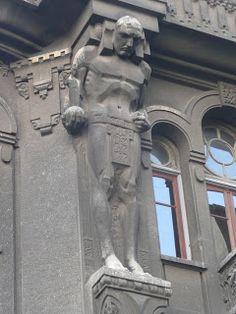 Art Nouveau Arquitectura, Art Deco, Cherub, Wolf, Architecture Details, Day Trips, Sculpture Art, Sculpting, Life Is Good