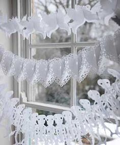 paper garlands day of death wedding and 14 feb